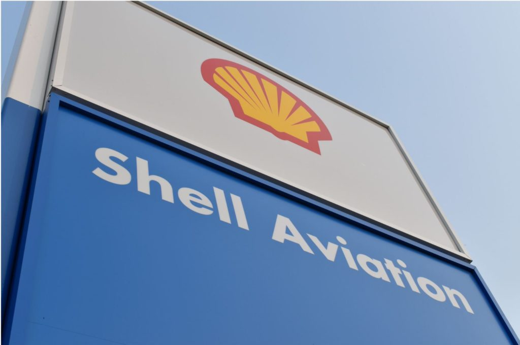 Shell Aviation Sign