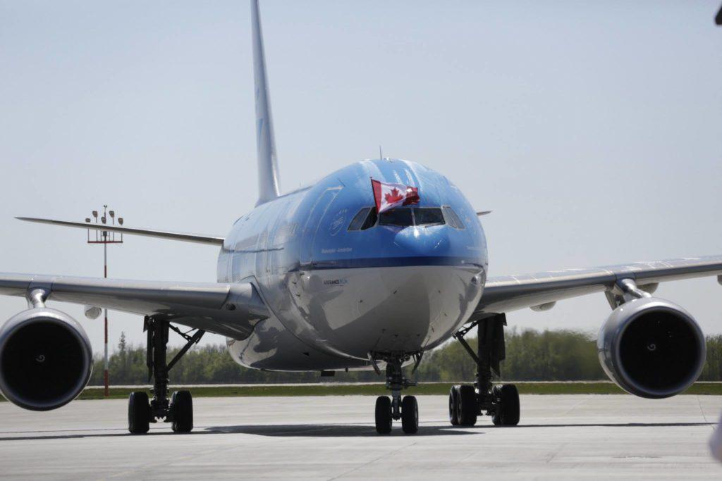 KLM RETURNS TO EIA