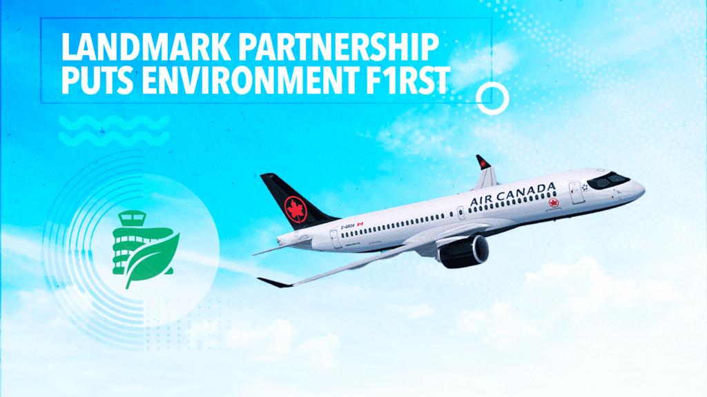 EIA and Air Canada sustainability partnership news release