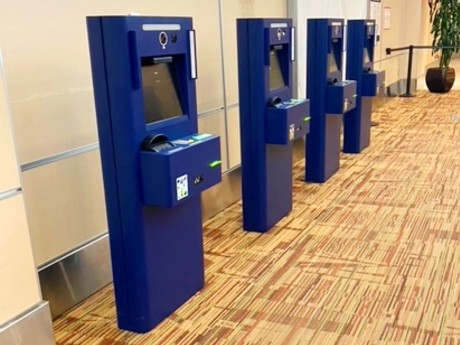 Automated Passport Control kiosk