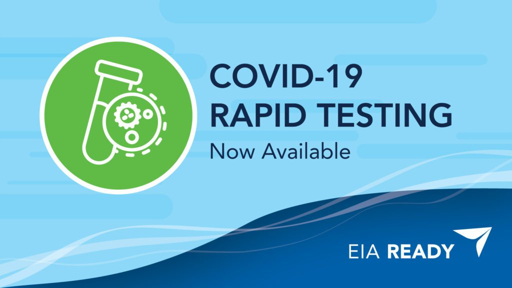 COVID-19 RAPID TESTING Now Available