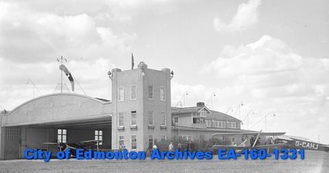Edmonton Blatchford Field Airport (aka City Centre Airport) circa 1937