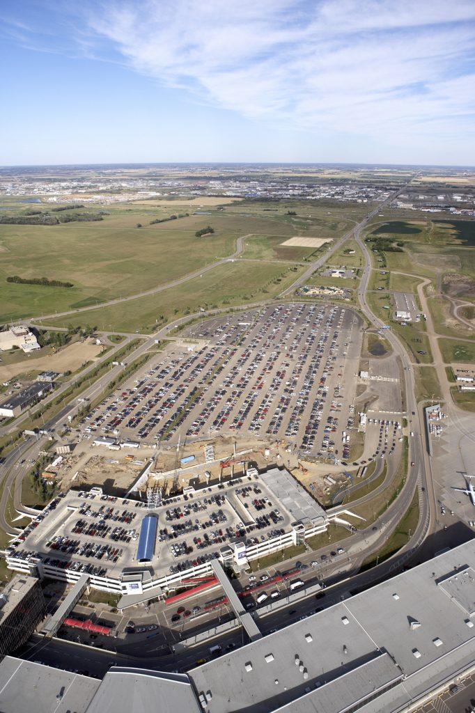 Edmonton Airport aerial photo