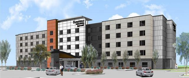 """Artist's rendition"" title=""Fairfield Inn by Marriott"""