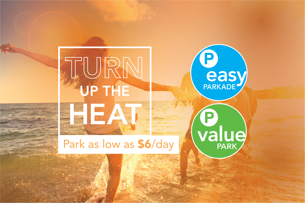 Turn up the heat park as low as $6/day for easy and value park