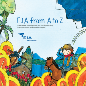 EIA from A to Z Children's Book cover
