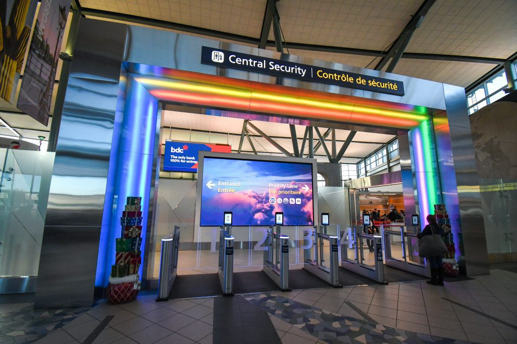 Central Security at EIA new e-gates and portal