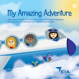 Cover Image of EIA My Amazing Adventure Strorybook