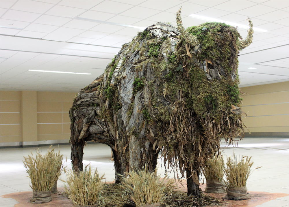 The Bison par Leigh Wright