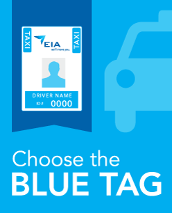 EIA Taxi - Blue Tag Program Image