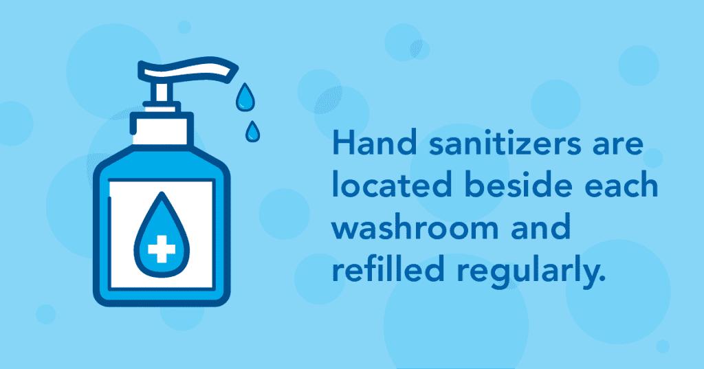 EIA ready campaign Hand Sanitizer