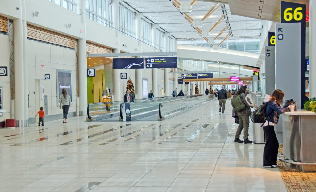 Edmonton International Airport Terminal - Departures