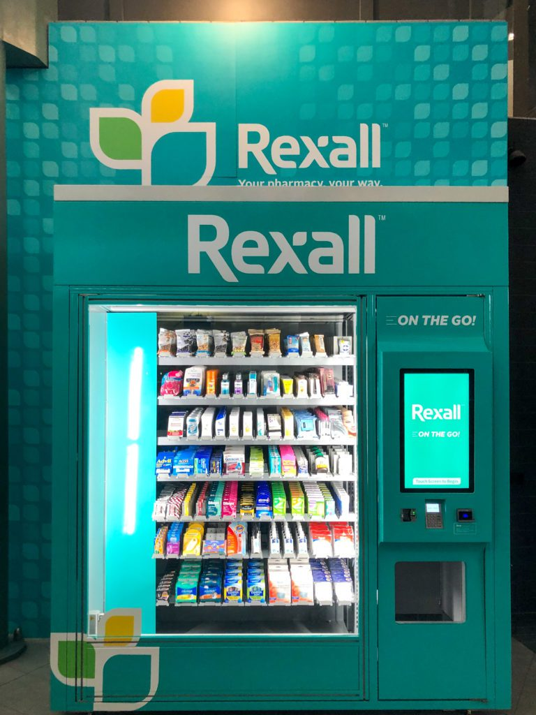 Rexall on the Go Vending Machine Image