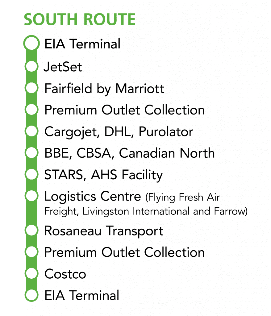 OnAirportRoutes-SOUTH-Route-Oct2019