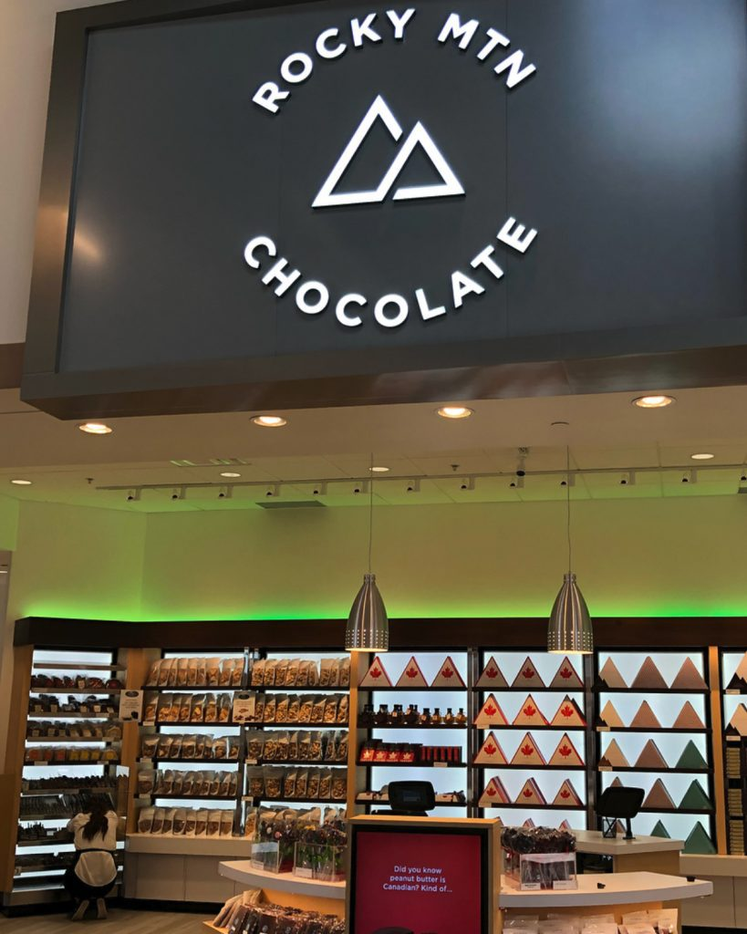 Rocky Mountain Chocolate store