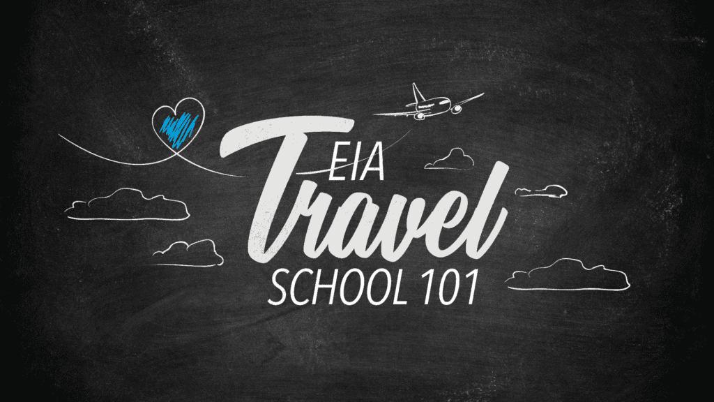 Travel School floating ad