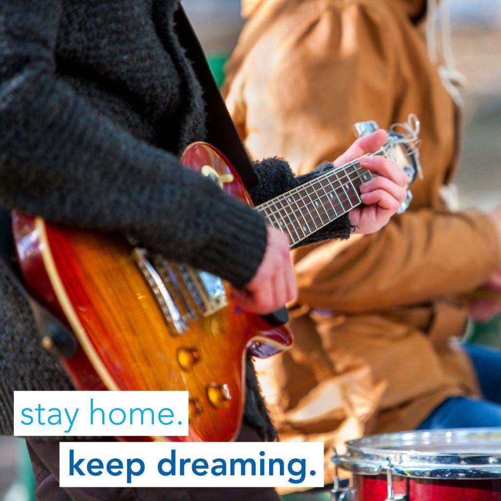 Stay home. Keep Dreaming. Kelowna.