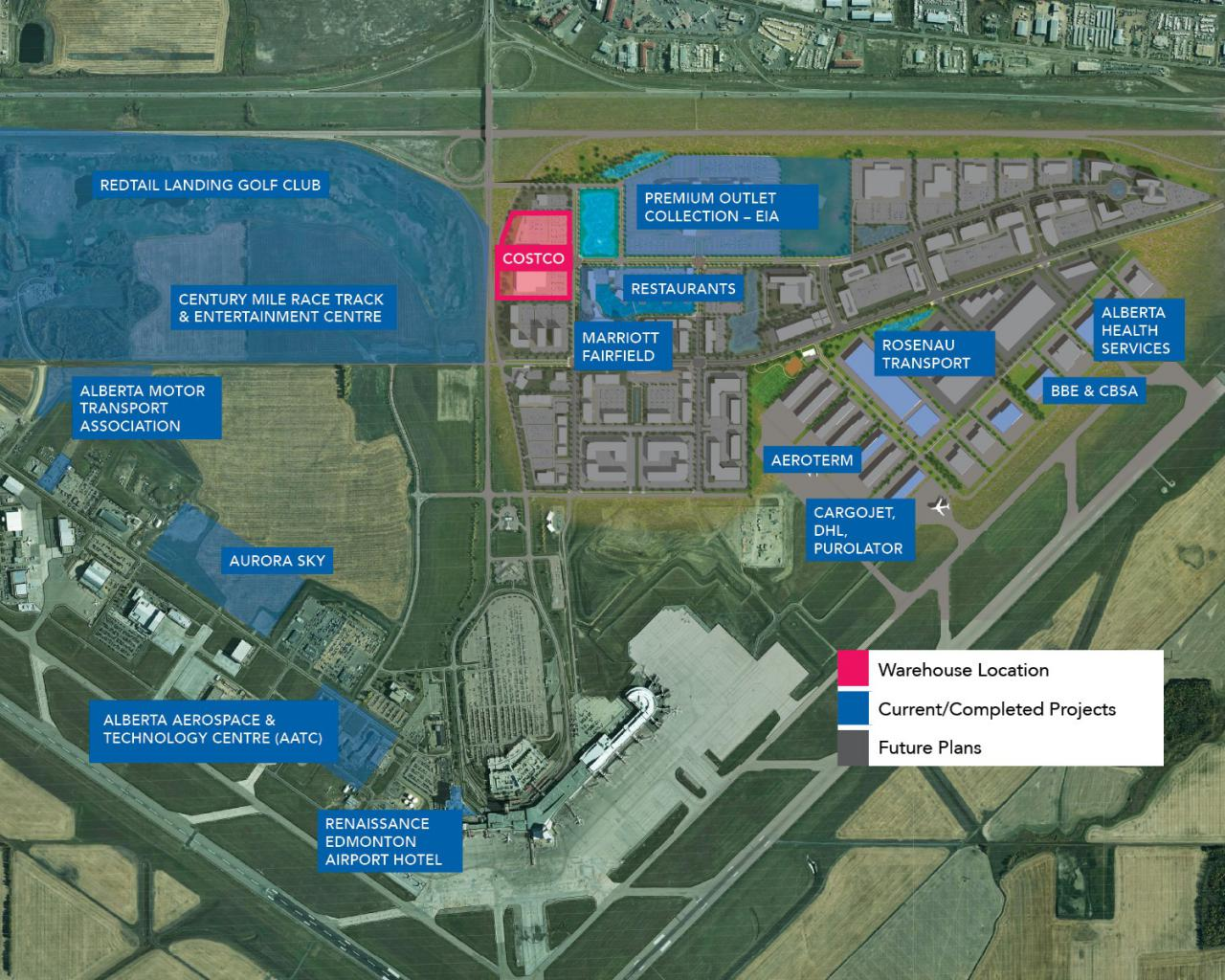 Costco Locations Wisconsin Map.Costco To Build New Warehouse At Edmonton International Airport