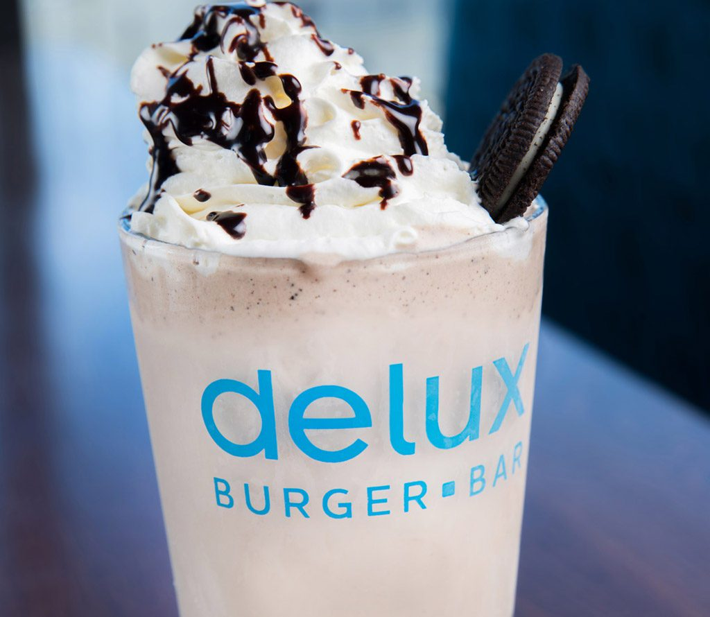 Photograph of Oreo milkshake from Delux2Go