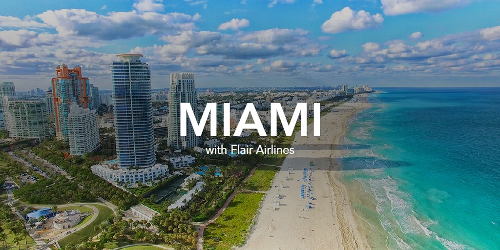 Miami with Flair Airlines