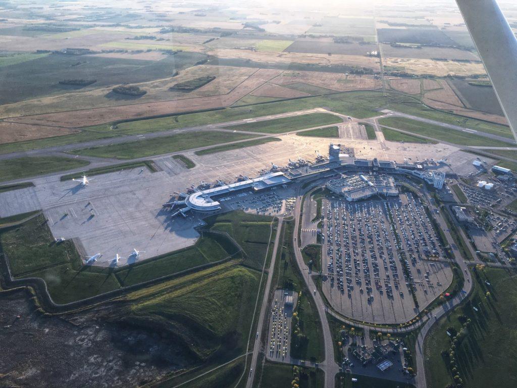 Photo aérienne de l'Aéroport international d'Edmonton